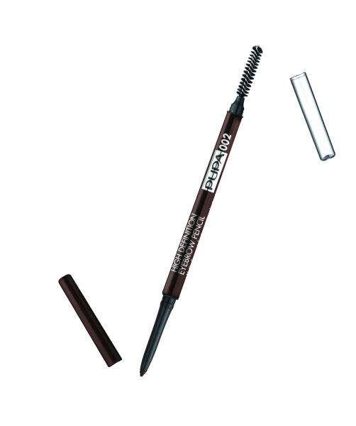 PUPA HIGH DEFINITION EYEBROW PENCIL 002 BROWN